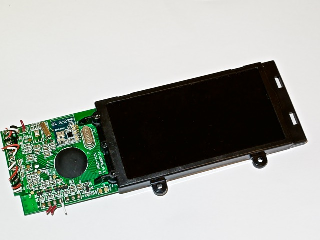 The Top of the PCB in the Bluetooth Scale