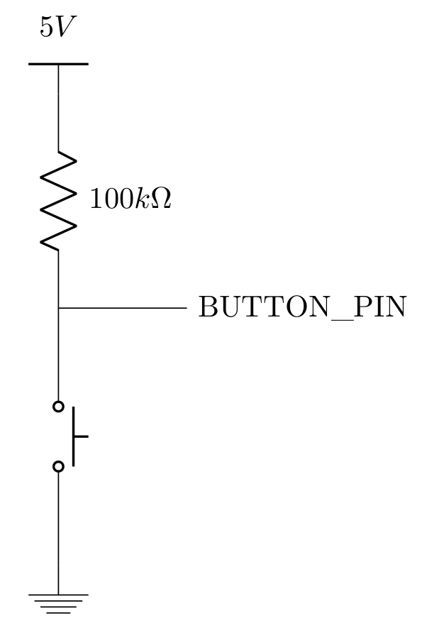 Button circuit diagram