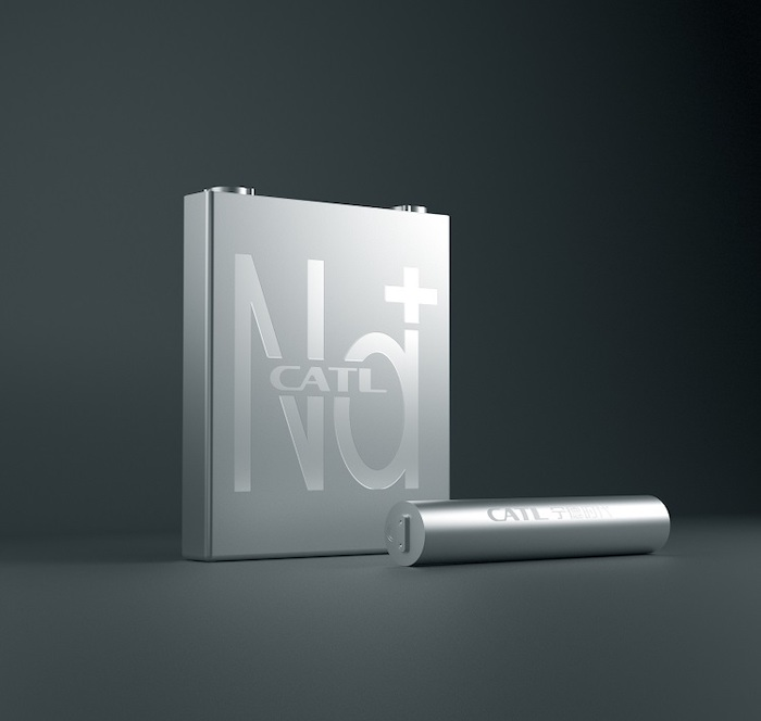 CATL's first-generation Na-ion battery.