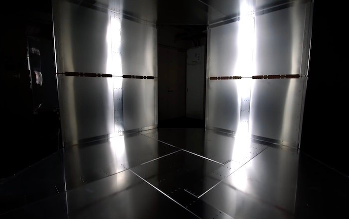 The inner room of the QSCR near-field magnetic chamber.