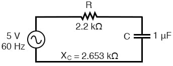 Circuit for solving 60 Hz