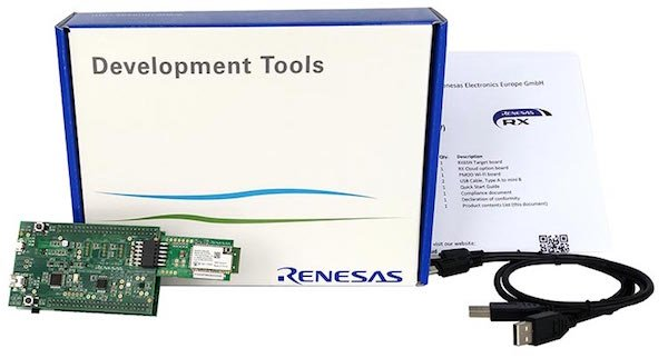 renesas rx65n cloud kit