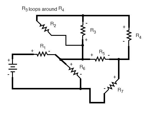 Re-drawing Complex Schematics | Series-parallel Combination Circuits on