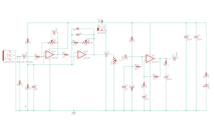 Construction of a Guitar Amplifier - Projects | Guitar Amp Schematic Diagram |  | All About Circuits