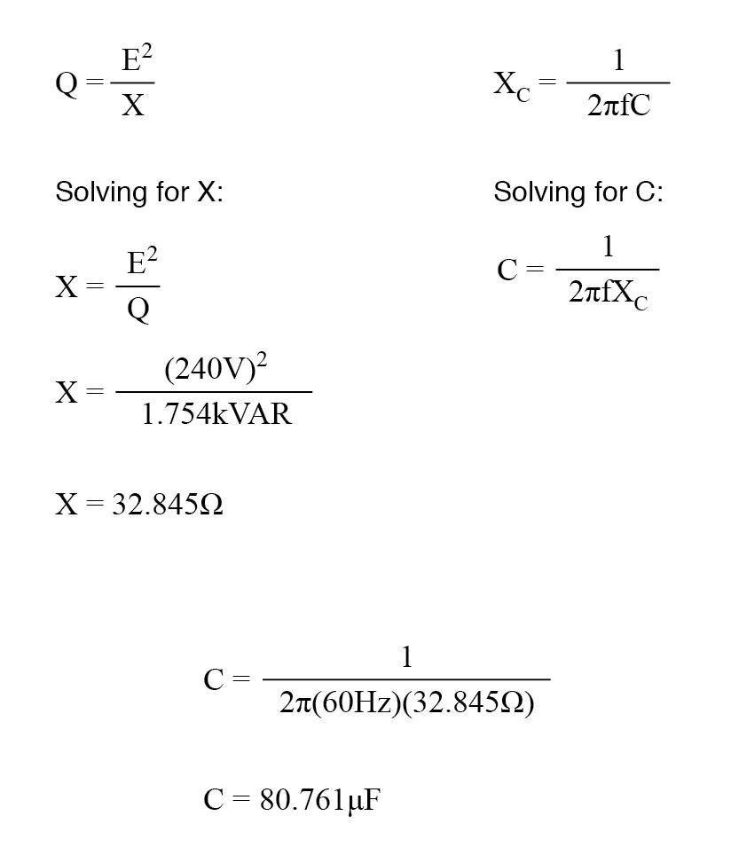 Electrical Power Calculation Formula Pdf