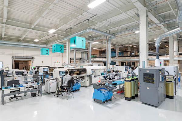 tempo PCBA manufacturing facility