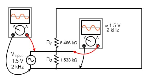 Due to the coupling capacitor's very low impedance at the signal frequency, it behaves much like a piece of wire, thus it can be omitted for this step in superposition analysis.