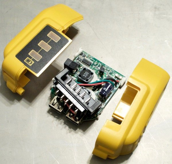 teardown tuesday  dewalt usb power supply