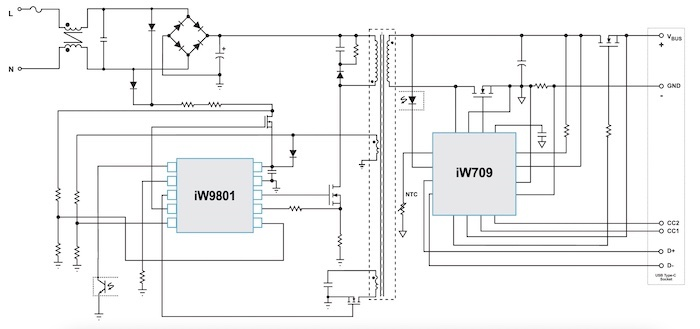 A reference design using the new Dialog ZVS chipset.