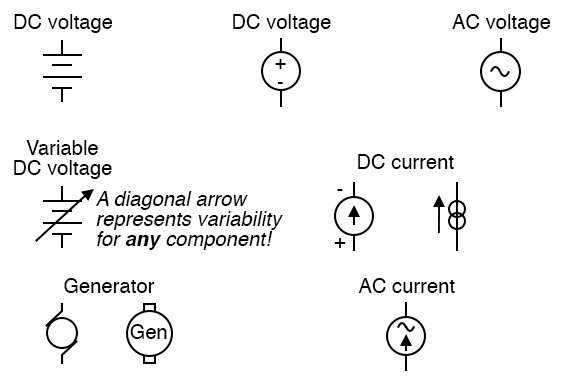 [QMVU_8575]  Power Sources | Circuit Schematic Symbols | Electronics Textbook | Current Schematic Wiring Diagram |  | All About Circuits