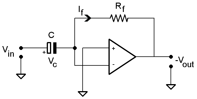 More First Order Opamp Circuits - Differentiators