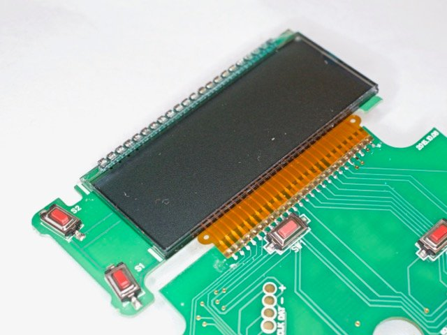 The display PCB