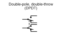 Double-pole, double-throw