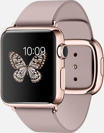 Apple Edition watch, courtesy Apple.com