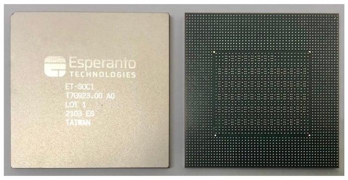 The new Esperanto ET-SoC-1.