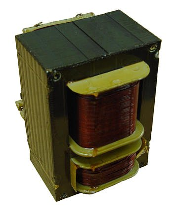 Example of a gas-discharge lighting transformer.