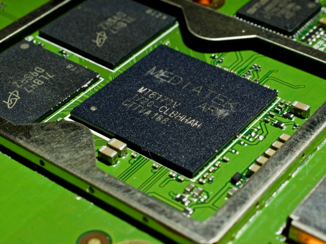 A mediatek cpu