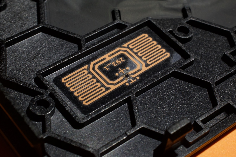 An internal RFID tag