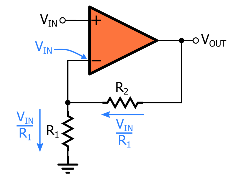 gain using typical circuit analysis
