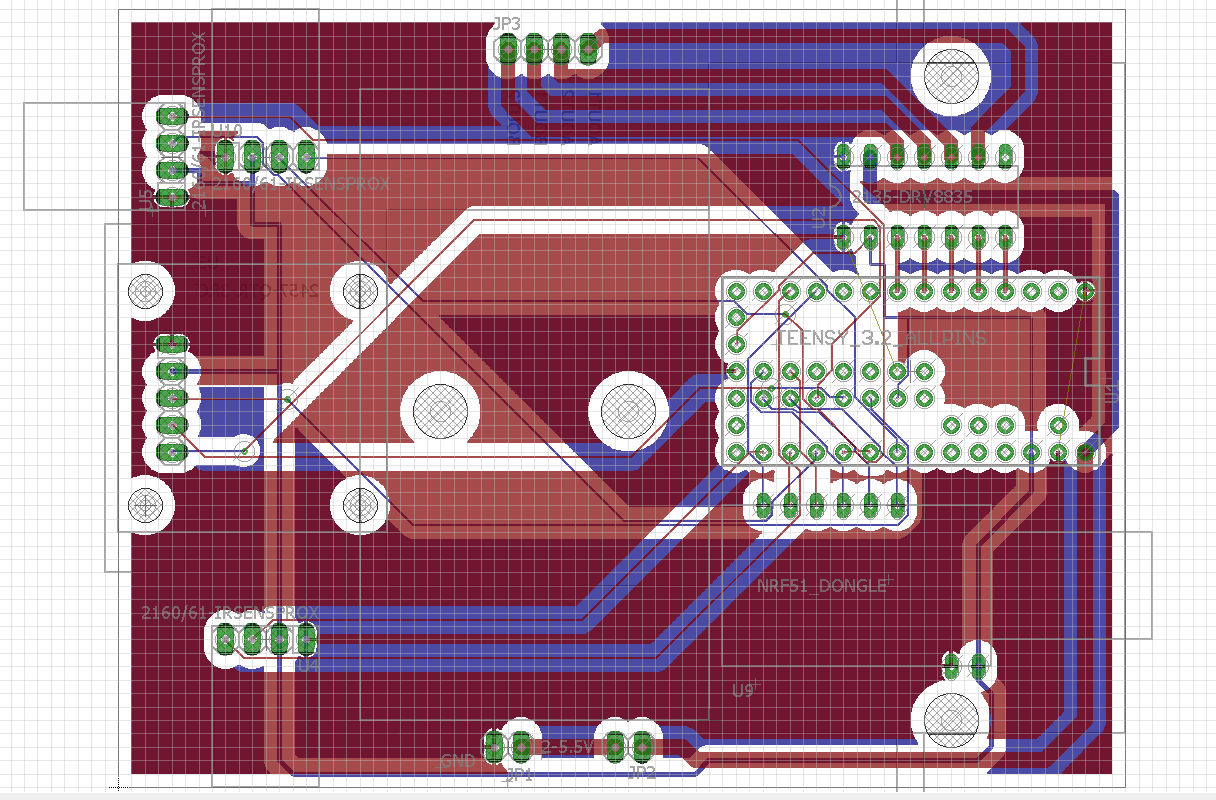 how to build a robot pcb design