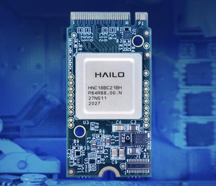 Hailo-8™ M.2 AI acceleration module.
