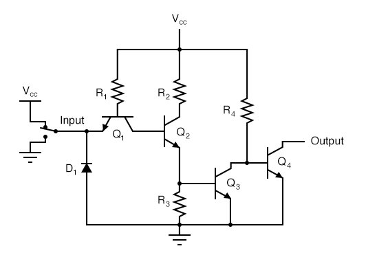 "Input logic level of ""1"" or High Input Analysis"