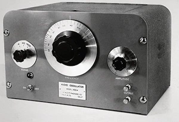 HP's first product: an oscillator.