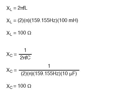individual impedances equation