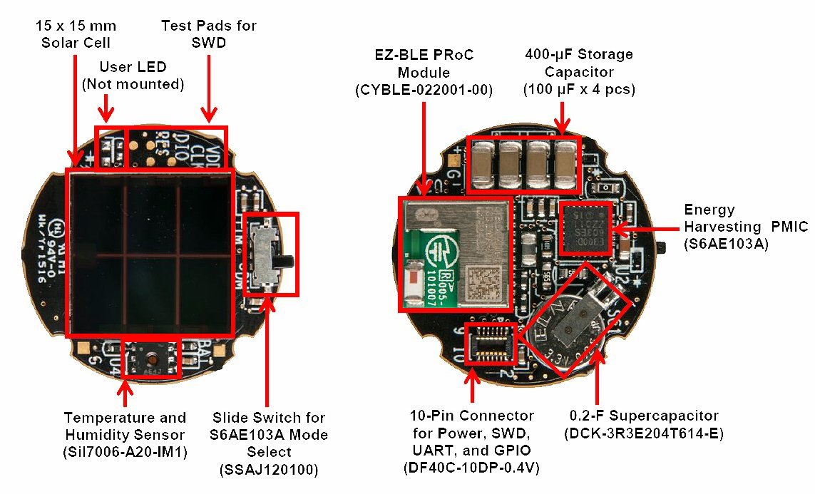 Overview of the BLE Solar Beacon from Cypress Semiconductor