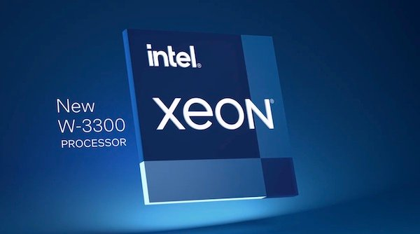 One recent processor comes from Intel: the Xeon W-3300.