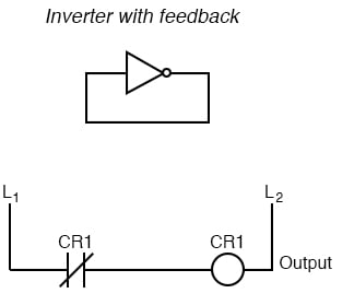 Inverter with feedback