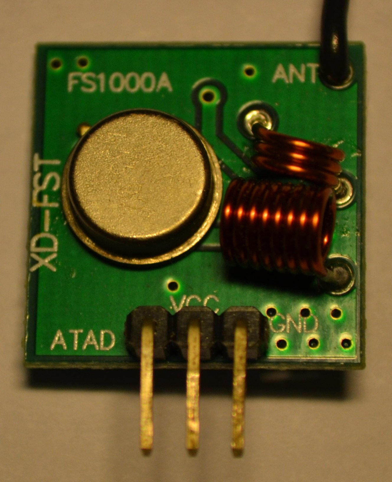 Hack A Mousetrap With 433mhz Rf Module Lekule Blog Transmitter Circuit Diagram The