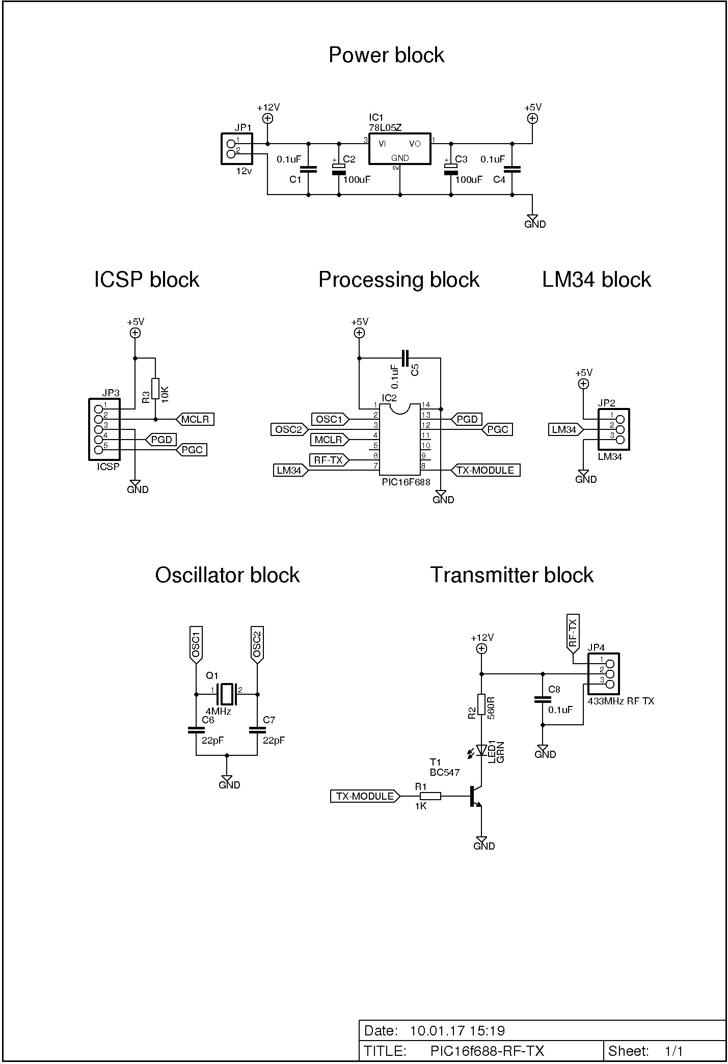 Make A Wireless Thermometer With Pic Microcontroller Pickit 3 Circuit Diagram Schematic Diagrams