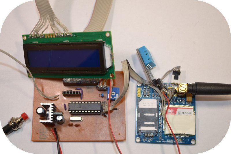 Using a SIM900A to Send Sensor Data to a Website