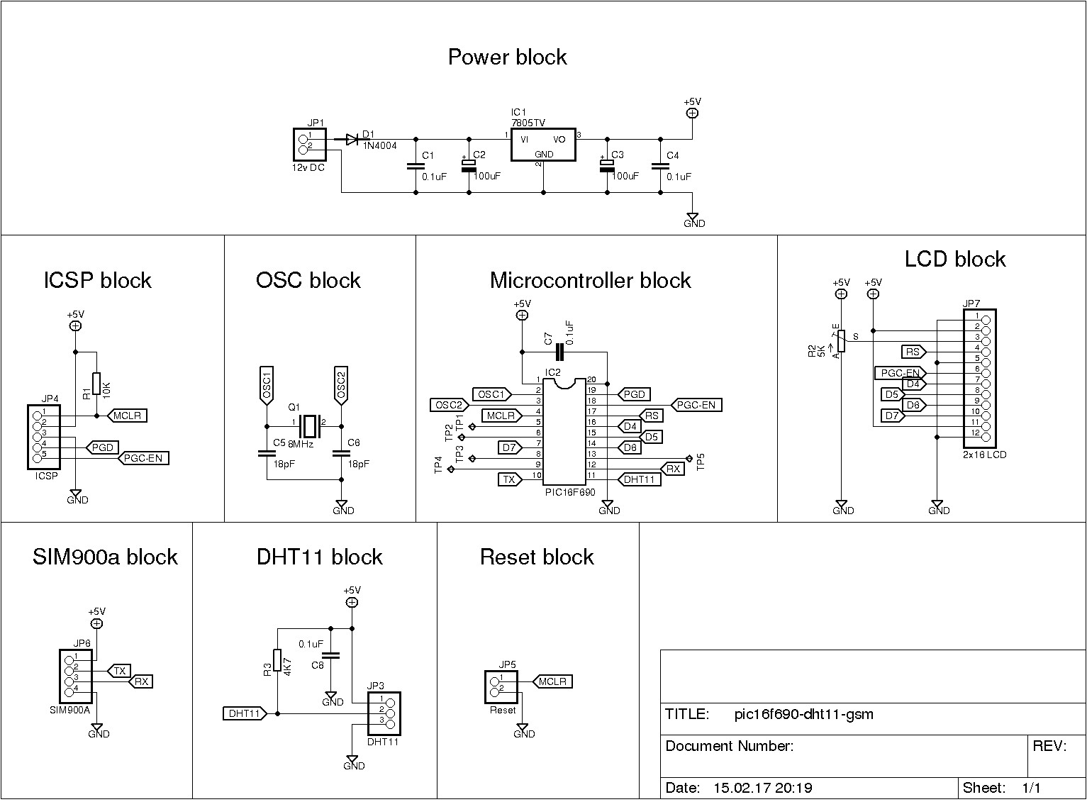 Using A Sim900a To Send Sensor Data Website Gsm Modem Interface With 8051 Microcontroller Click Here For High Resolution Image Of The Schematic