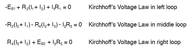 kirchhoffs voltage law image
