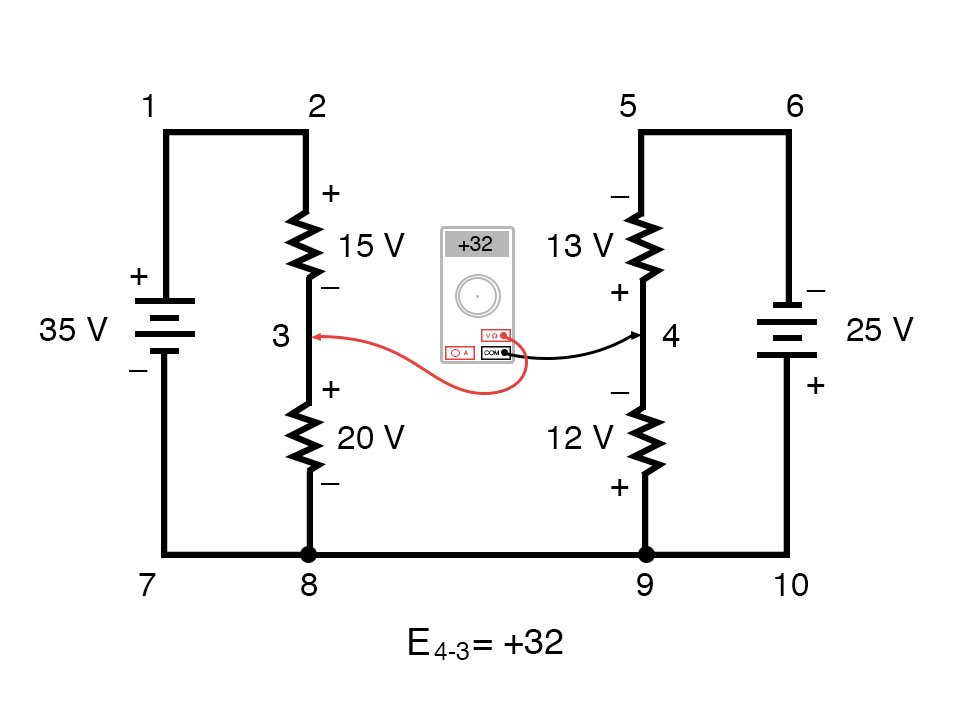 kirchoffs voltage law diagram 2