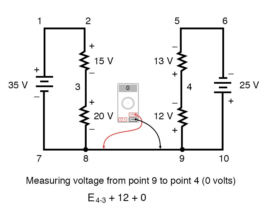 kirchoffs voltage law diagram 4