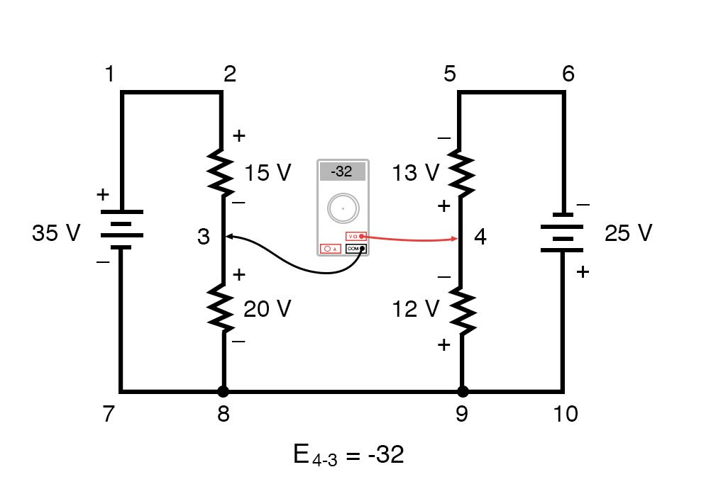 kirchoffs voltage law diagram 6