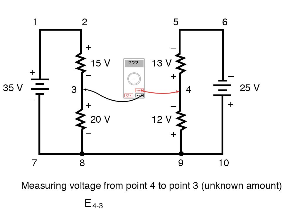 kirchoffs voltage law diagram 7