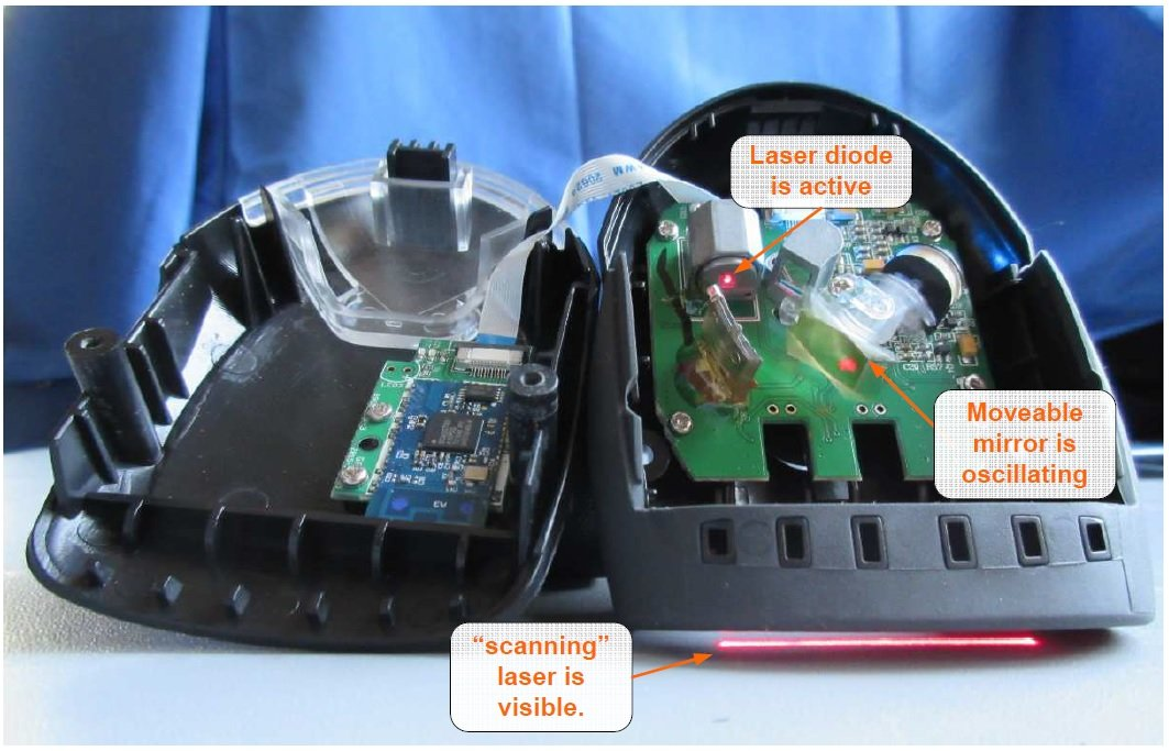 Teardown Tuesday: Bluetooth-Enabled Cordless Barcode Scanner