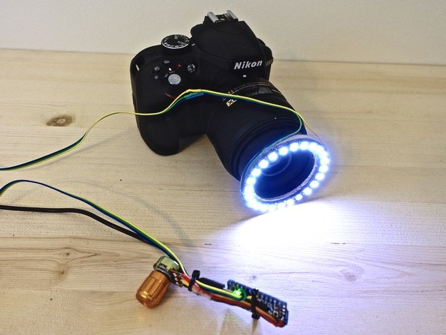 Own Light Build Photography Ring Your Led PkOTwXZiu