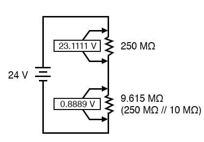 lower resistor circuit