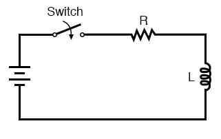 L/R time delay circuit