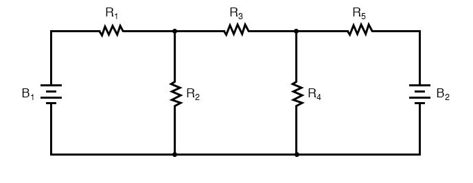 mesh current diagram