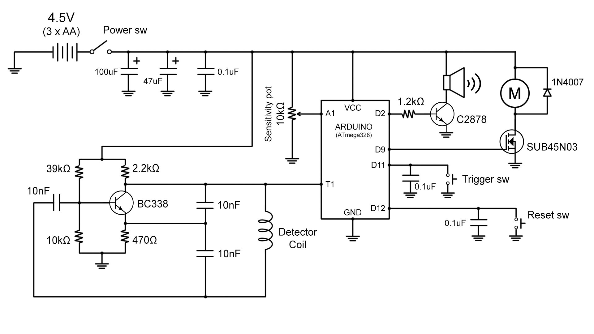 451pd2 further Schemview moreover TM 9 6115 670 14P 735 besides 555 Timer Astable Circuit as well Simple Low Power Inverter 6v Dc To 230v. on tone generator circuit diagram