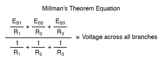 millmans theorem equation