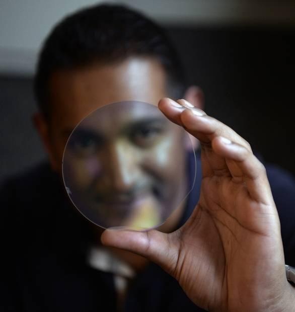 A Miraj Diamond laser lens