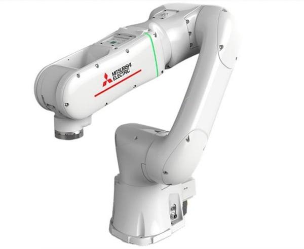 Mitsubishi's real-time cobot.