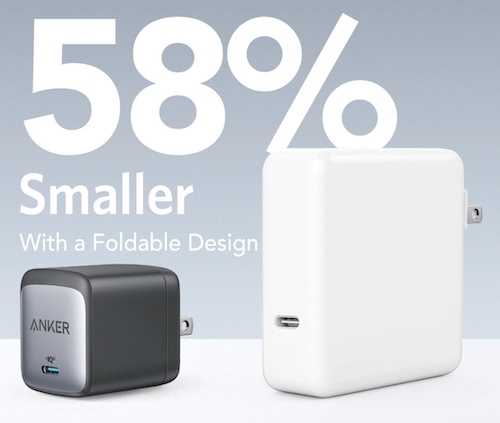 Anker's Nano II, which utilizes PI's new offerings, can provide 60W of power in an area 58% less than competitors.